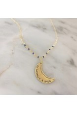 Sojourn Well To The Moon & Back Necklace