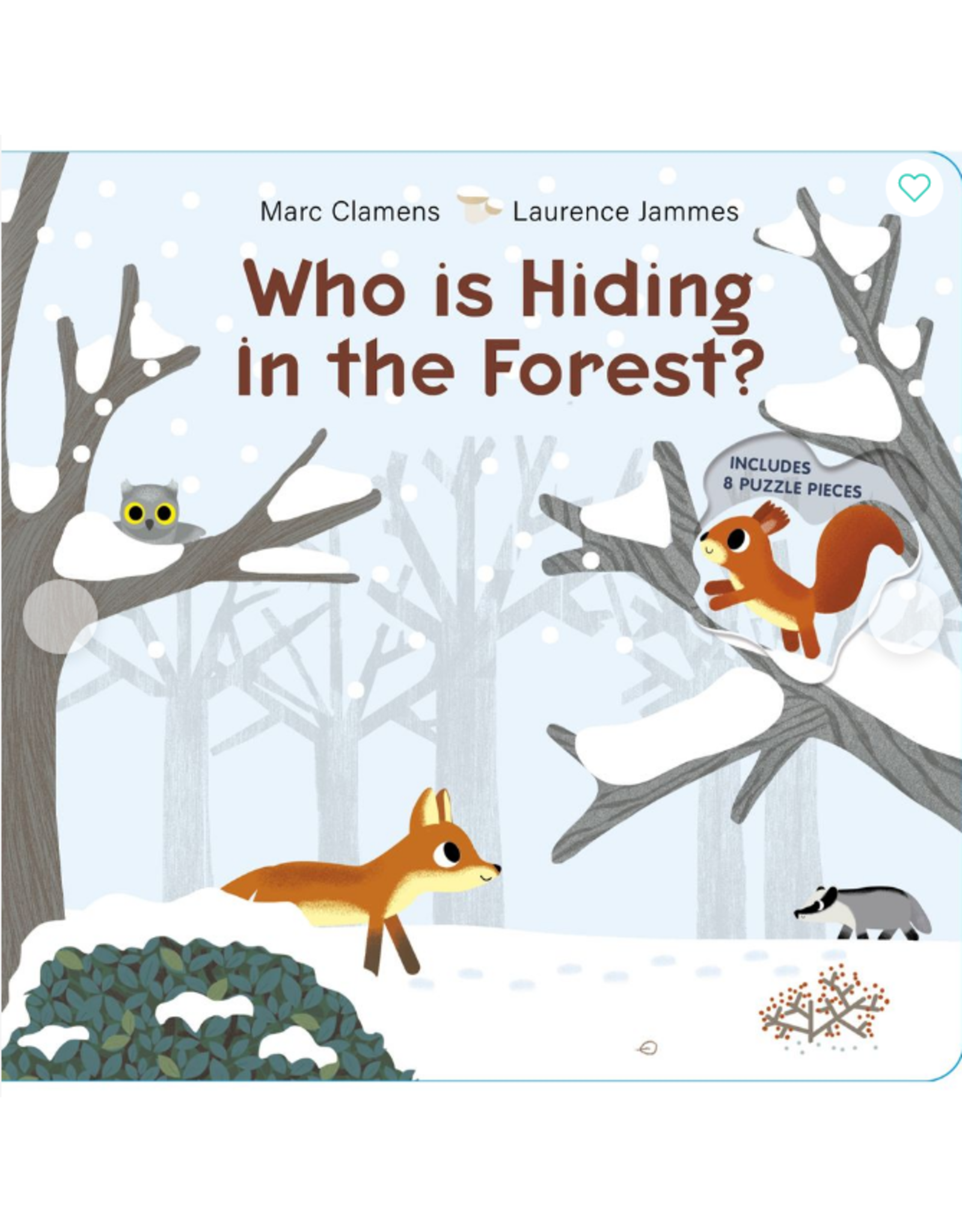 Schiffer Publishing Who Is Hiding in the Forest Book