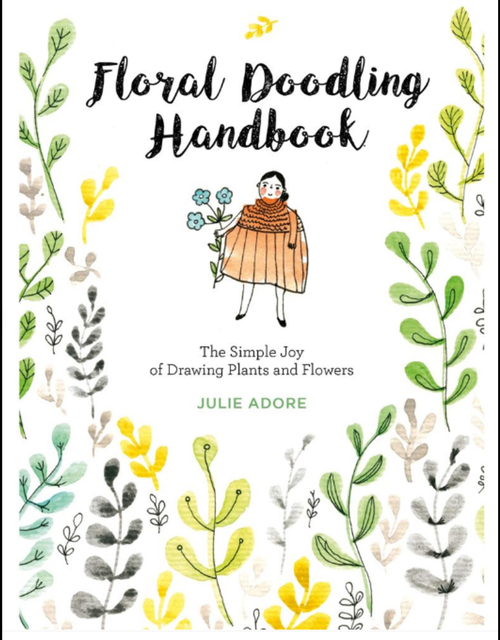 Schiffer Publishing Floral Doodling Handbook/Plants & Flowers