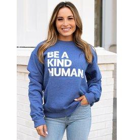 Panache Accessories Be A Kind Human Sweatshirt