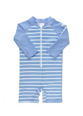 RuggedButts Cornflower Blue Stripe One Piece
