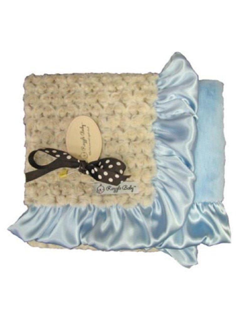 Camel Poodle Double Plush Blanket