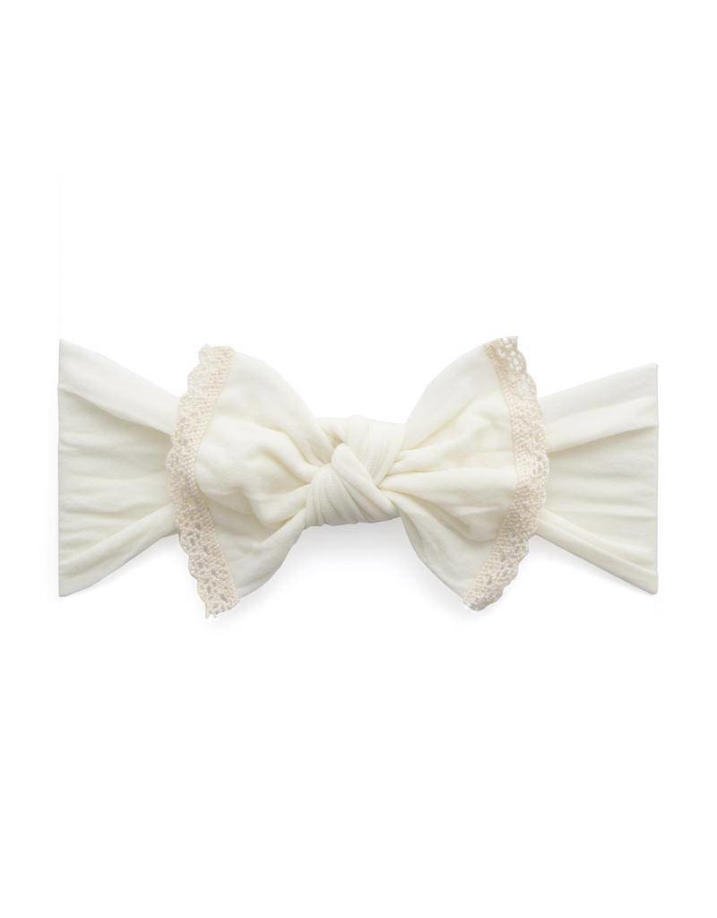 Baby Bling Trimmed Classic Knot Baby Bling