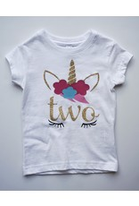 Tracy's Treasures Unicorn Birthday Shirt