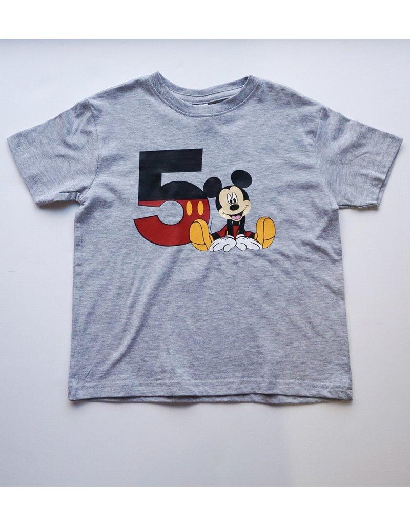 Tracy's Treasures Mickey Birthday Shirt