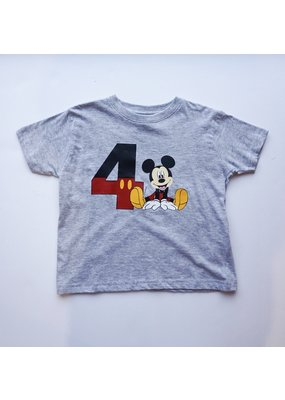 Tracy's Treasures Mickey Birthday Shirt
