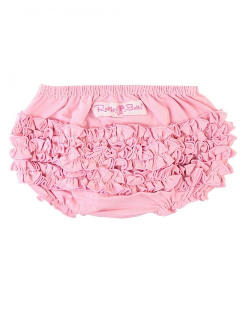 Pink Knit Rufflebutt