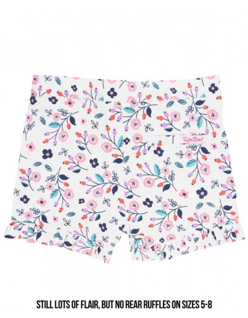 RuffleButts Berry Sweet Ruffle Shorts