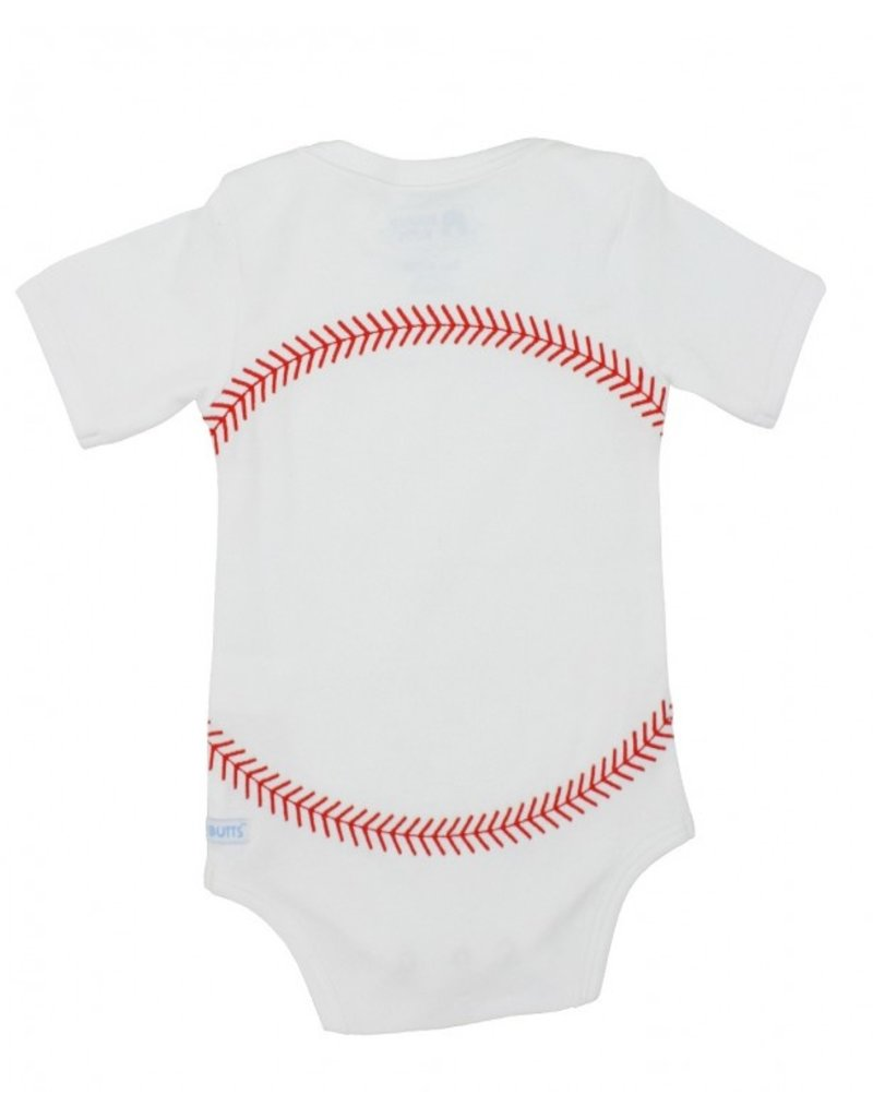 RuggedButts Baseball Onesie