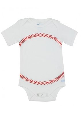 RuggedButts Baseball Onesie