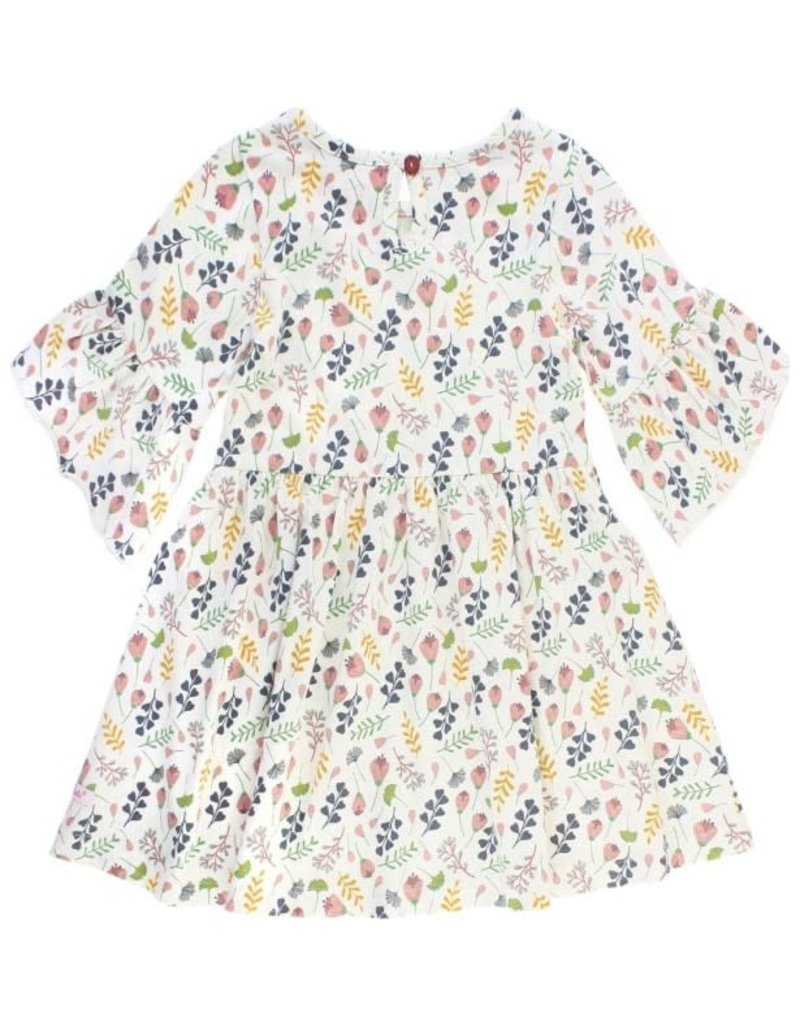 RuffleButts A Floral Affair Mia Dress
