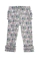 RuffleButts Brushed Confetti Ruffle Leggings