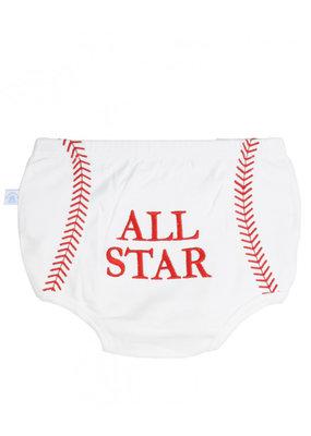 RuggedButts Baseball Diaper Cover