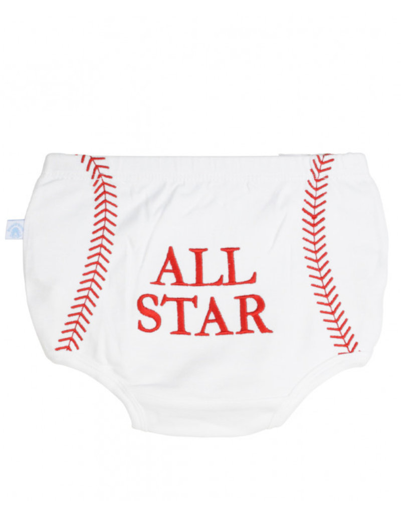 RuggedButts Baseball Diaper Cover