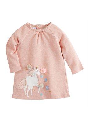 MudPie Unicorn Raglan Dress