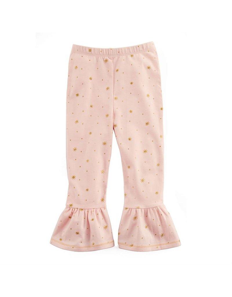 MudPie Sparkle Ruffle Leggings