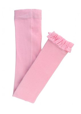 RuffleButts Pink Footless Tights