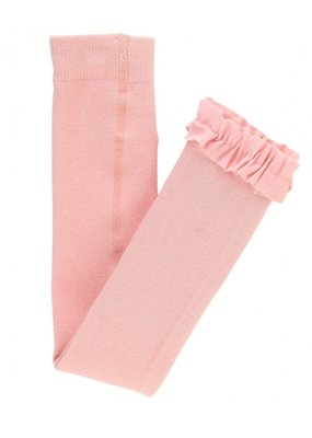 RuffleButts Ballet Pink Footless Tights