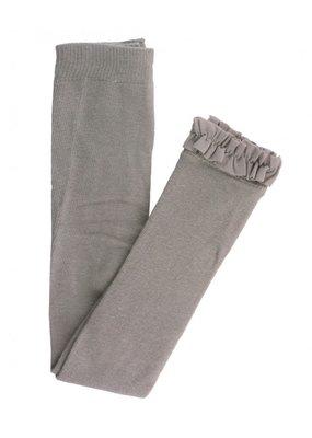 Grey Footless Tights
