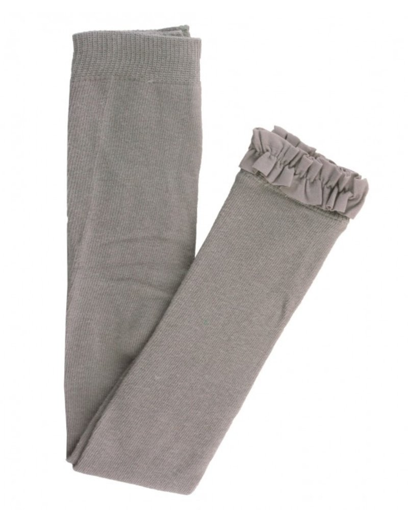 RuffleButts Grey Footless Tights