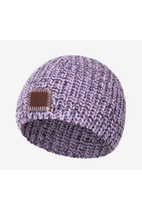love your melon Light Purple and Navy Speckled Baby Beanie