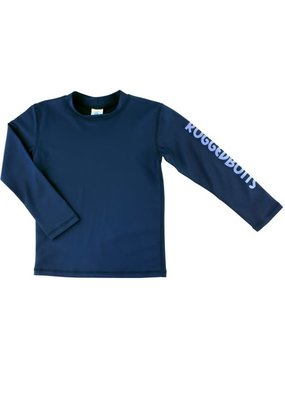 RuggedButts Navy Long Sleeve Rash Guard