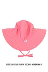 RuffleButts Rose Swim Hat 0-12months