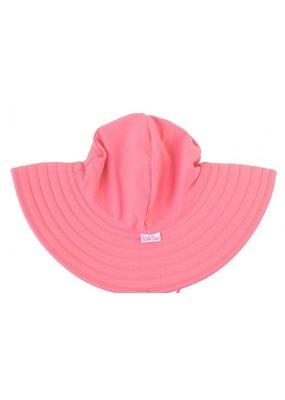 RuffleButts Rose Swim Hat 3T-5
