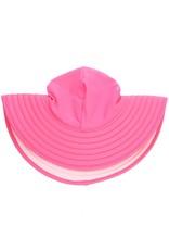 RuffleButts Candy & Pink Reversible Sun Hat 12m-2T