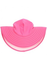 RuffleButts Candy & Pink Reversible Sun Hat 3T-5