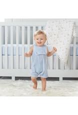MudPie Infant Seersucker Shortall with Bib