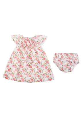 MudPie Rosebud Smocked Dress