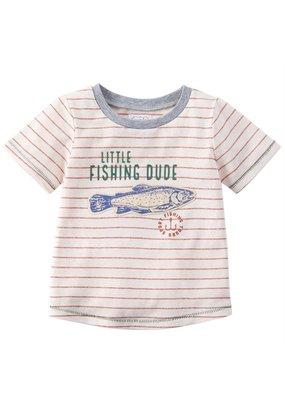 MudPie Little Fishing Dude 12-18 months