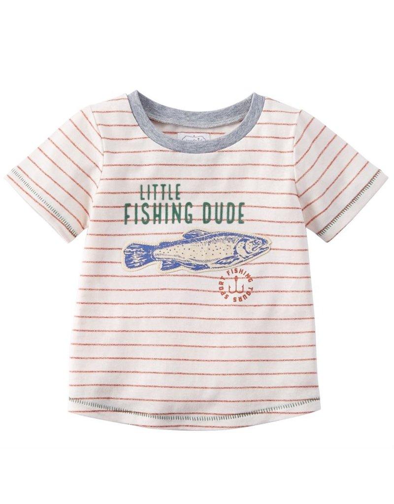 MudPie Little Fishing Dude 24m-3T