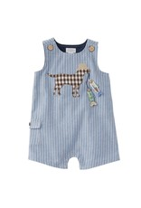 MudPie Infant Puppy and Fish Shortall