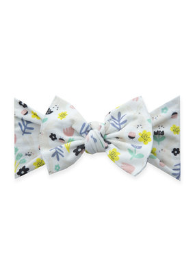 Baby Bling Spring Printed Knot Baby Bling Hunny Bunny