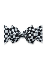 Baby Bling Printed Knot Checkmate