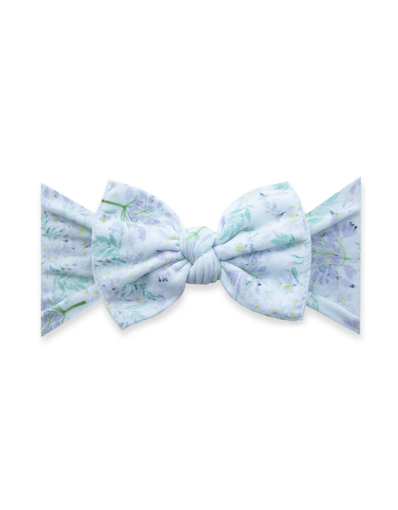 Baby Bling Printed Knot Lavender