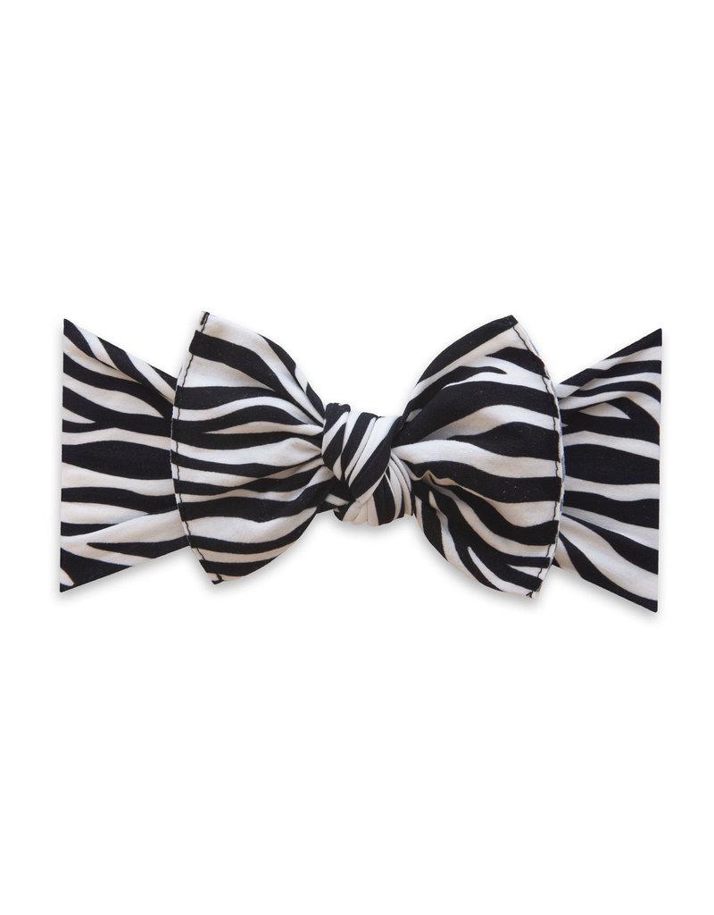 Baby Bling Printed Knot Zebra