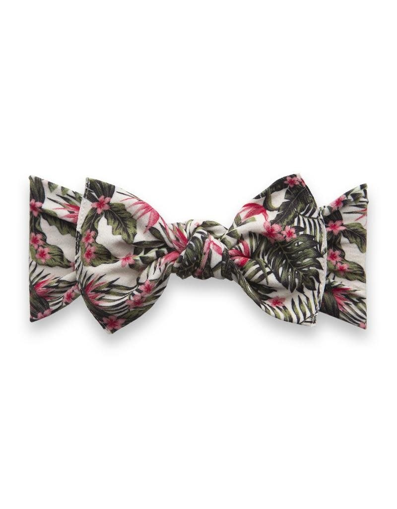 Baby Bling Printed Knot Birds of Paradise