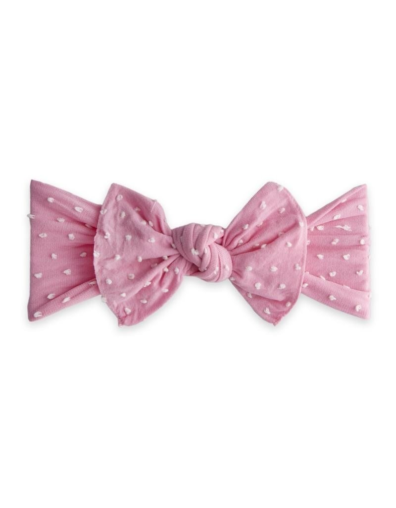 Patterned Knot Bubblegum Shabby Dot