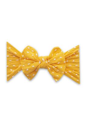 Baby Bling Spring Patterned Shabby Knot Baby Bling Headband  Sunshine Dot