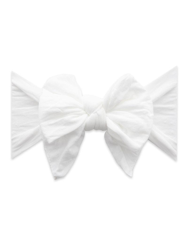 Baby Bling Printed Deb Baby Bling Headband  White Dot