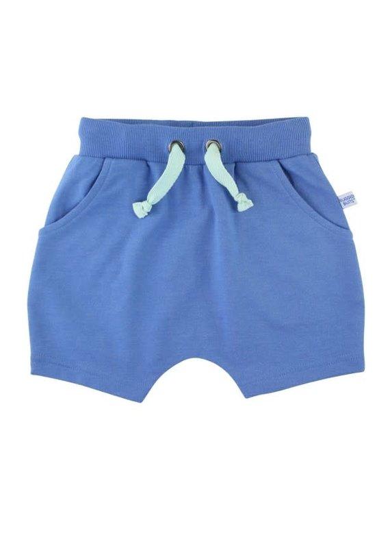 Blue Jogger Shorts