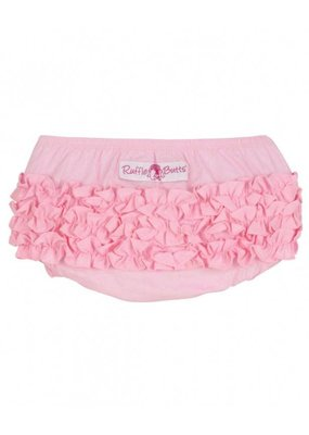 RuffleButts Pink Diaper Cover