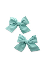 Baby Bling 2 Pack Big Cotton Clips Caribbean