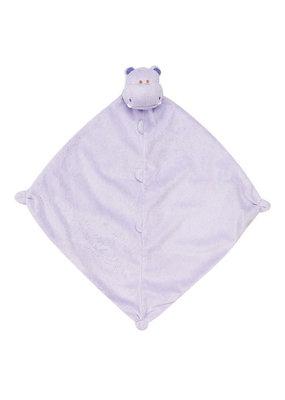 Angel Dear Lovie Hippo Purple