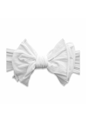 Big and Beautiful Bow  White