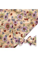 Baby Bling Swaddle Set Apricot Floral