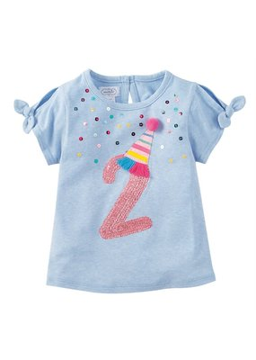 MudPie Two Birthday Tee